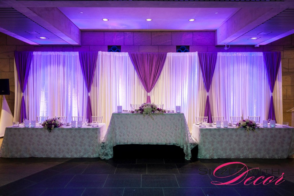 Let Sizzle with Decor Design your next Wedding Backdrop