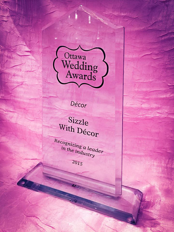 Sizzle with decor wedding and event decor ottawa awards junglespirit Images