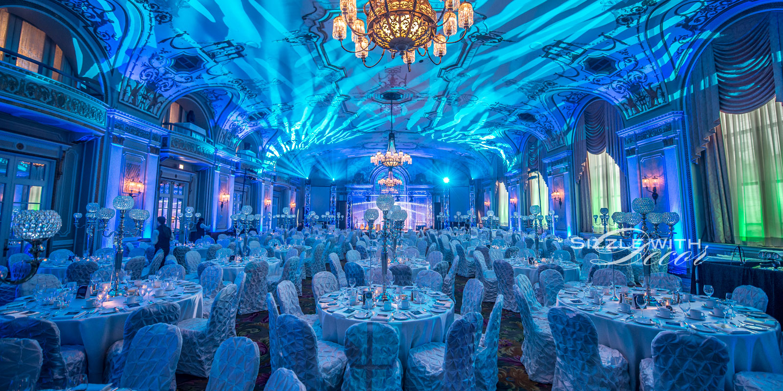 Sizzle with decor wedding and event decor ottawa sliderimageblue junglespirit